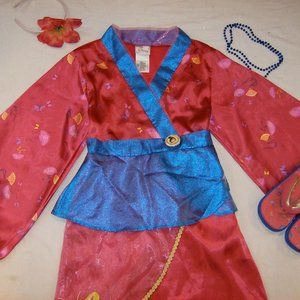 New Disney Store Mulan Costume Dress Up